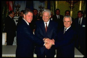 Boris N. Yeltsin;William J. Clinton;Leonid M. Kravchuk